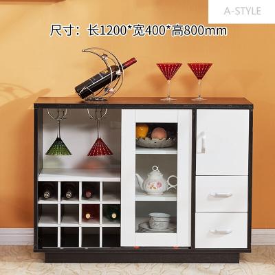 A-STYLE定制酒柜现代简约客厅小户型家用餐边柜碗柜收纳储物柜C-38