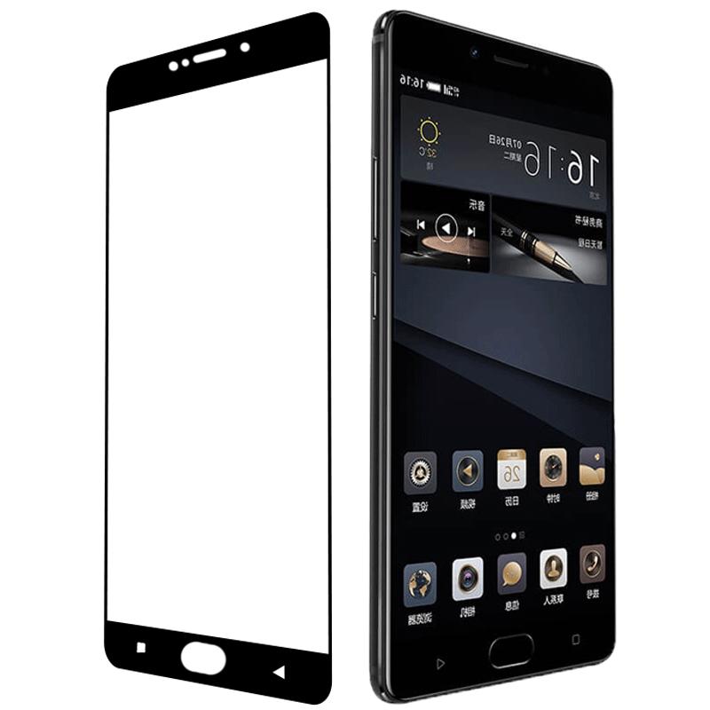 金立m6plus全屏钢化膜gioneegn8002s手机模男金力m6pls刚化莫贴摸