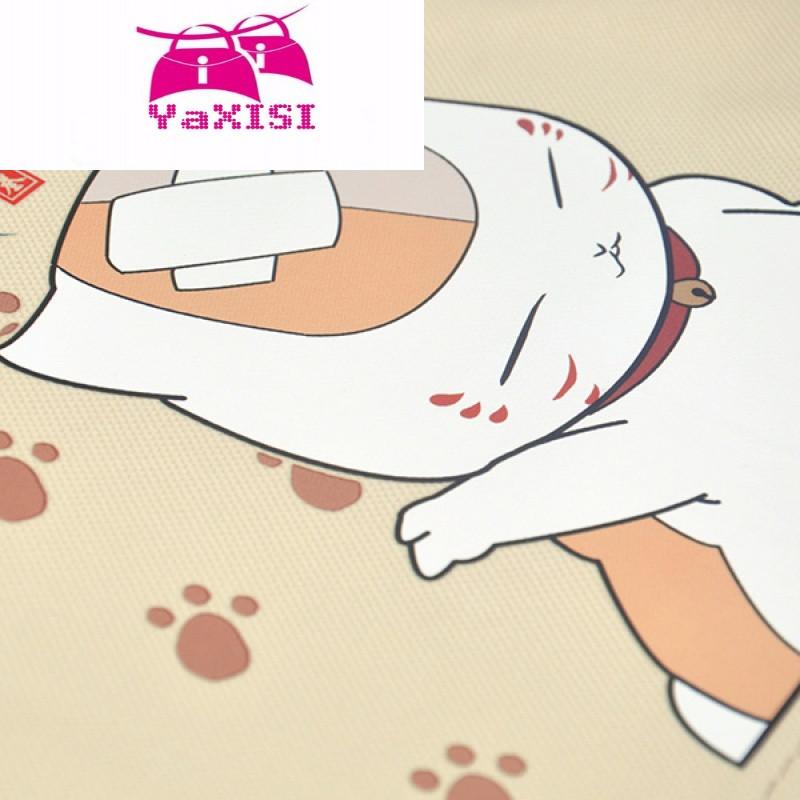 yasixi可爱猫咪老师动漫周边高中学生书包单肩包斜挎包邮差包女