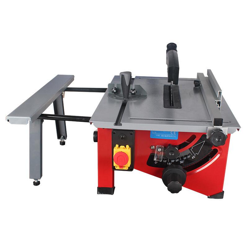 台式多功能小型8寸木工台锯裁板机调节家用木工锯工具电锯