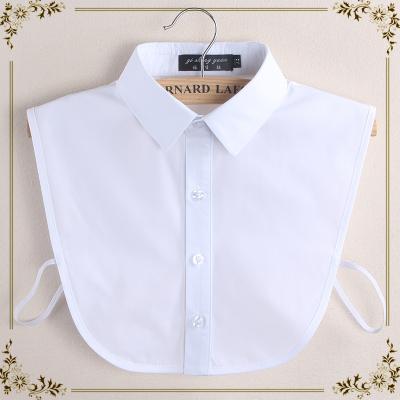 902新款跑男同款假領子 男士春秋冬季白色百搭襯衫襯衣通用假領裝飾衣領定制