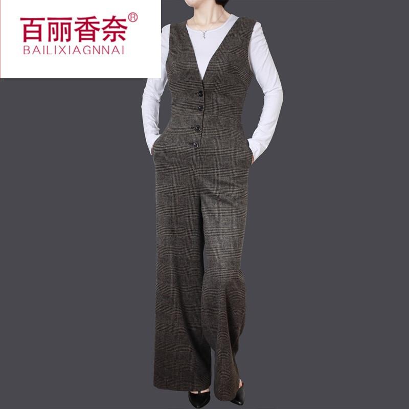 阔腿连体裤长裤