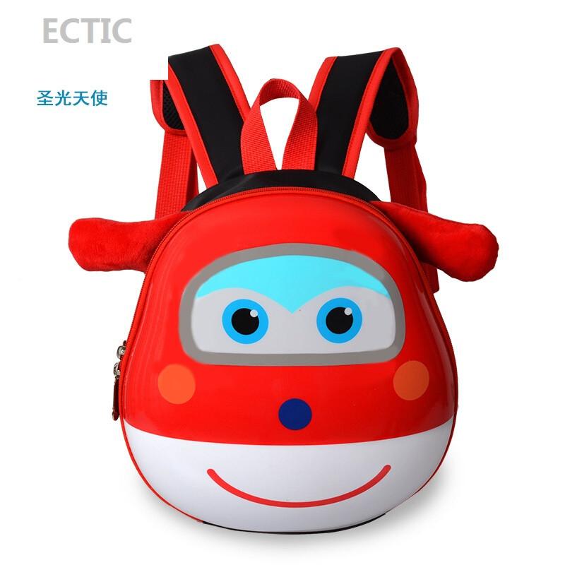 ectic幼儿书包女生3-5-6岁韩国迷你可爱1-3岁蛋壳宝宝