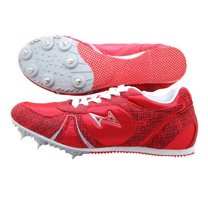 钉鞋囹�a_钉鞋中短跑跑步鞋男女钉子鞋599