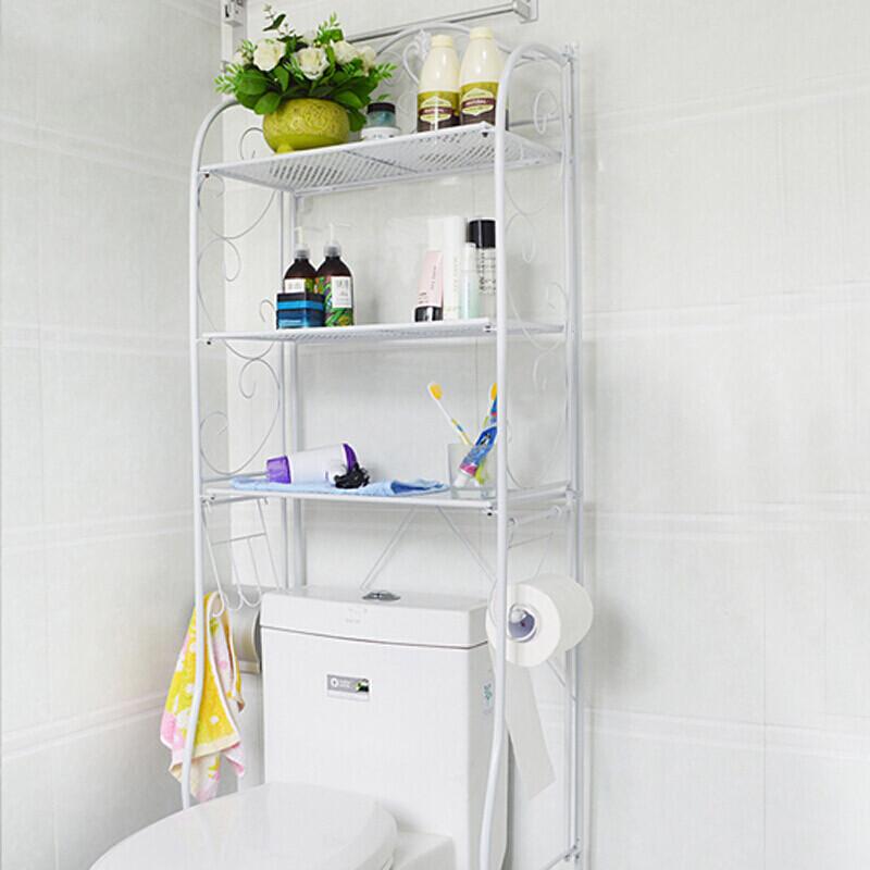 卫浴厕所落地马桶架置物架洗衣机架子