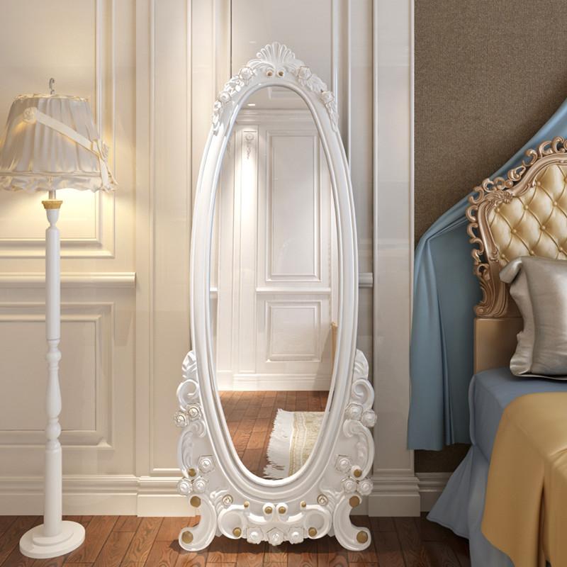 穿衣镜欧式穿衣镜全身落地壁挂试衣镜换鞋镜全身镜卧室家具化妆镜
