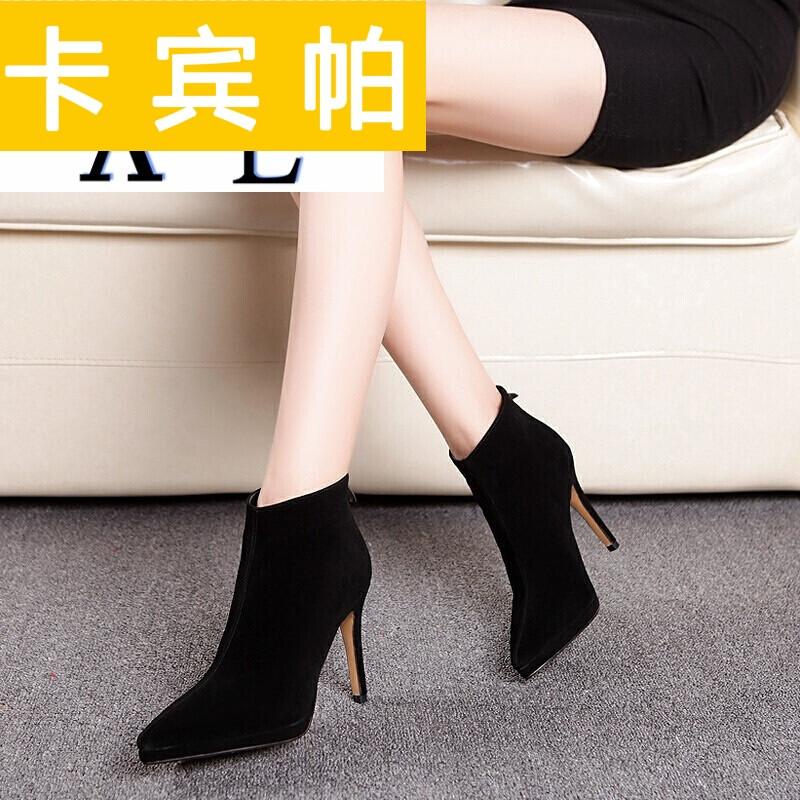 尖头鞋女冬