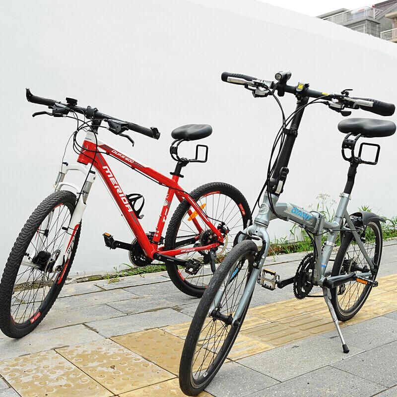 【赠运费险】自行车坐垫弯管避震山地车座加厚软舒适无鼻鞍座前座垫