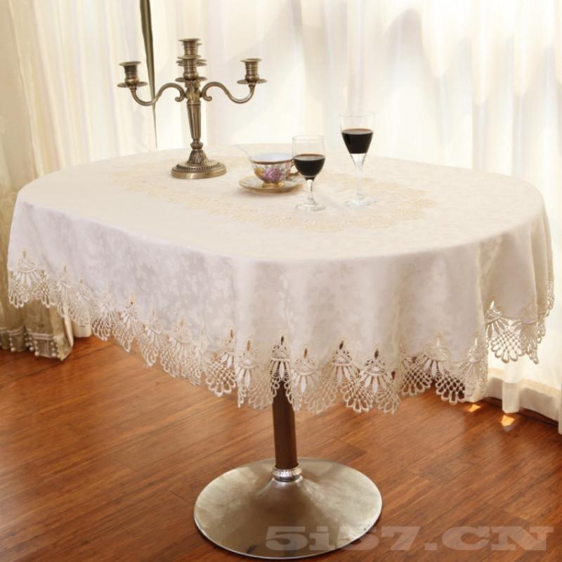 高档欧式简约现代椭圆形桌布餐桌布椅套椅子套纯色布艺餐厅台布垫
