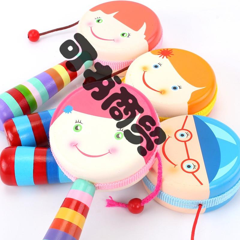 可书 宝宝拨浪鼓可爱男孩女孩婴儿新生儿玩具训练宝宝