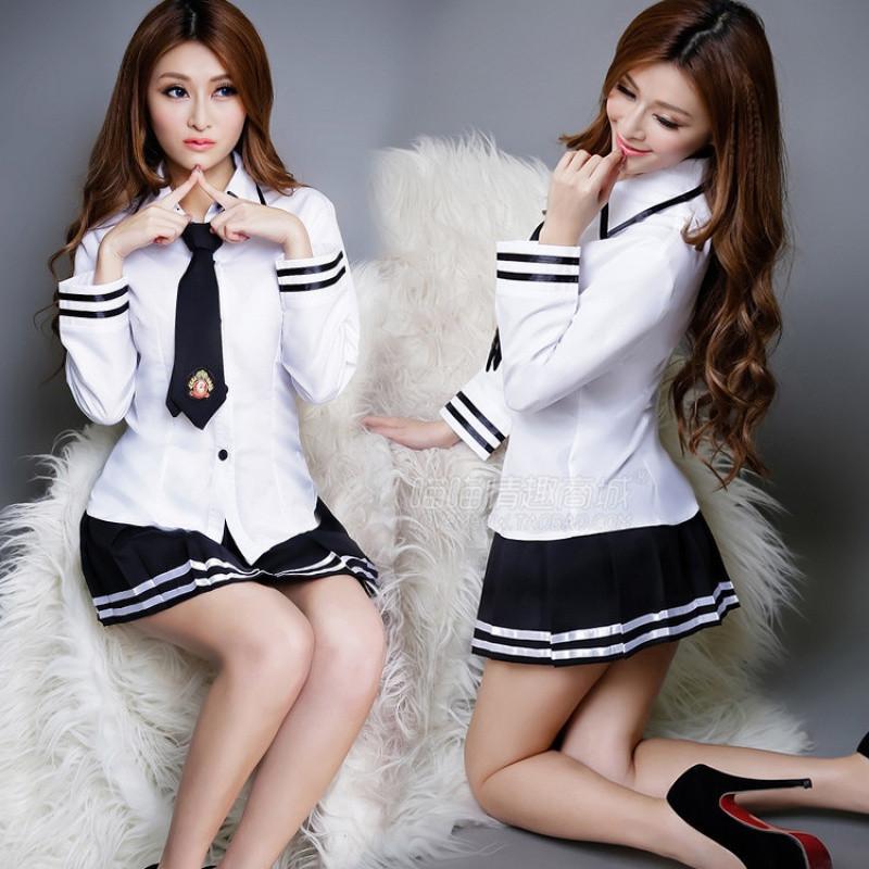 性感教师被操_新款学生装情趣内衣角色扮演女式水手服性感教师制服游戏诱惑丝袜套装