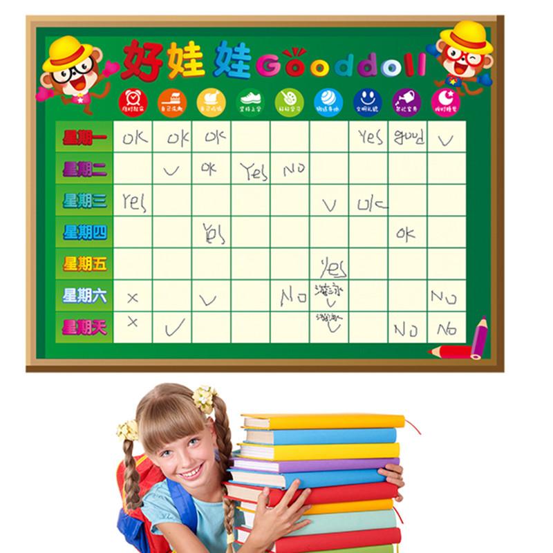 幼儿园小红花奖励贴纸儿童房间小组评比栏表格墙贴画墙壁墙面装饰