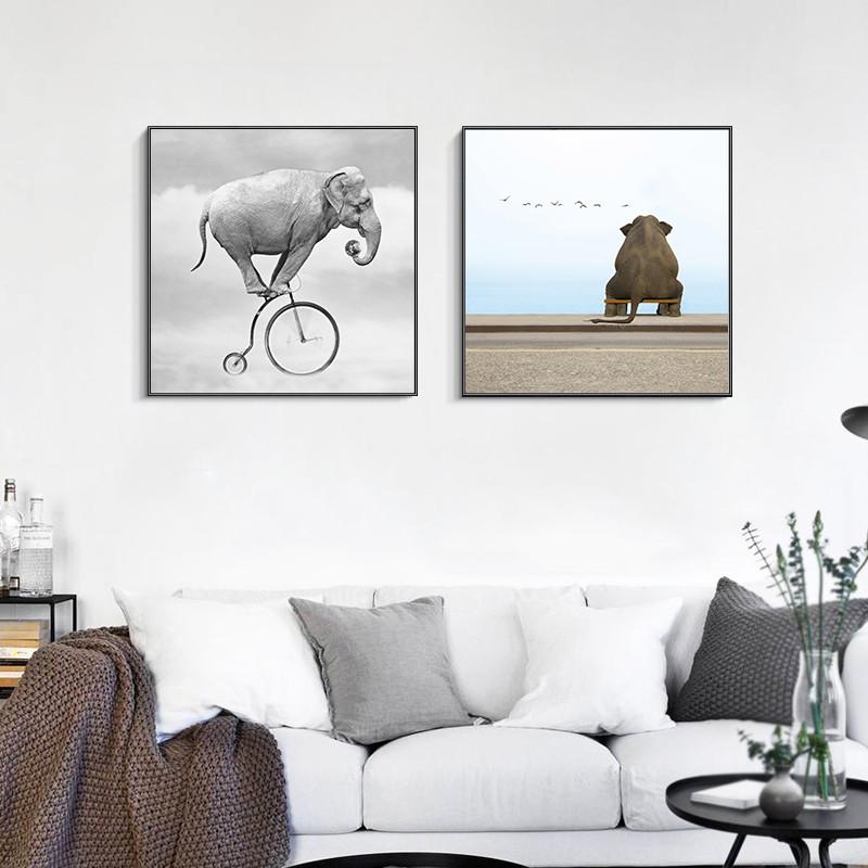 别样人生 北欧风格装饰画客厅沙发背景墙画卧室餐厅挂