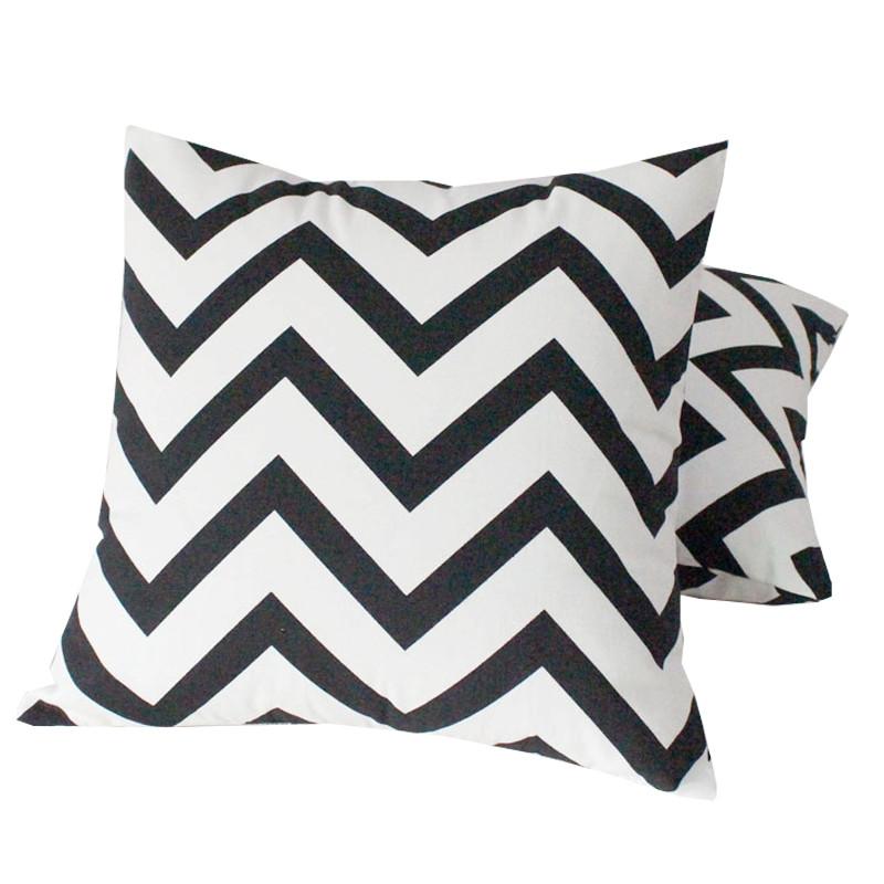 搭配时尚简欧全棉条纹沙发靠垫抱枕办公室靠枕汽车腰靠午睡