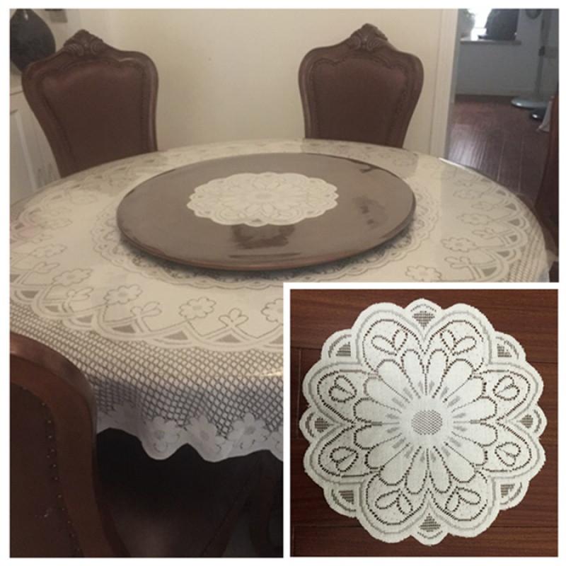 圆形桌布垫转盘布餐盘布巾大小圆形盖布台布