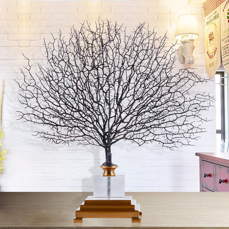 新款2018新中式摆件创意家居软装样板房饰品 现代客厅