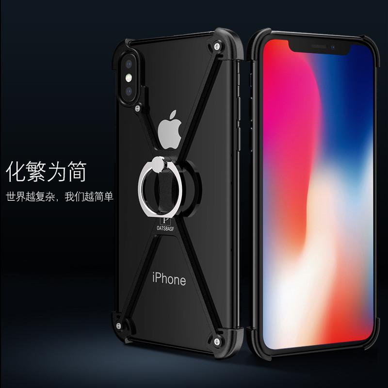 苹果x手机壳iphone10金属iphonex边框iphinex硬ipnone