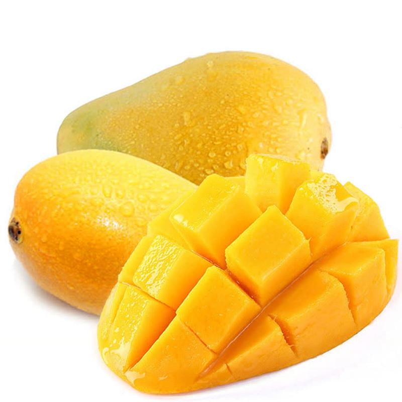 海南小台农芒果 4斤 台芒果 热带水果三亚特产新鲜 bl图片