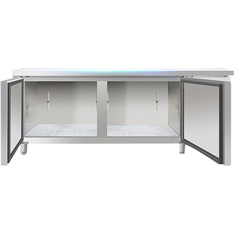 商用冷藏工作台不锈钢卧式冰箱冰柜冷柜冷藏柜保鲜工作台图片