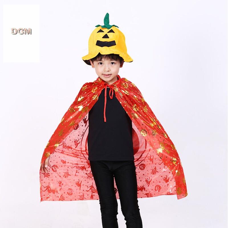 万圣节帽子儿童装扮用品化妆舞会派对表演头饰道具演出帽南瓜帽