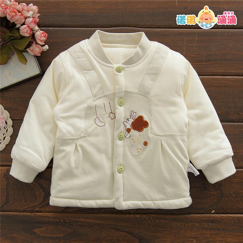 新款男女宝宝6个月秋冬装0冬季3婴儿小童薄棉