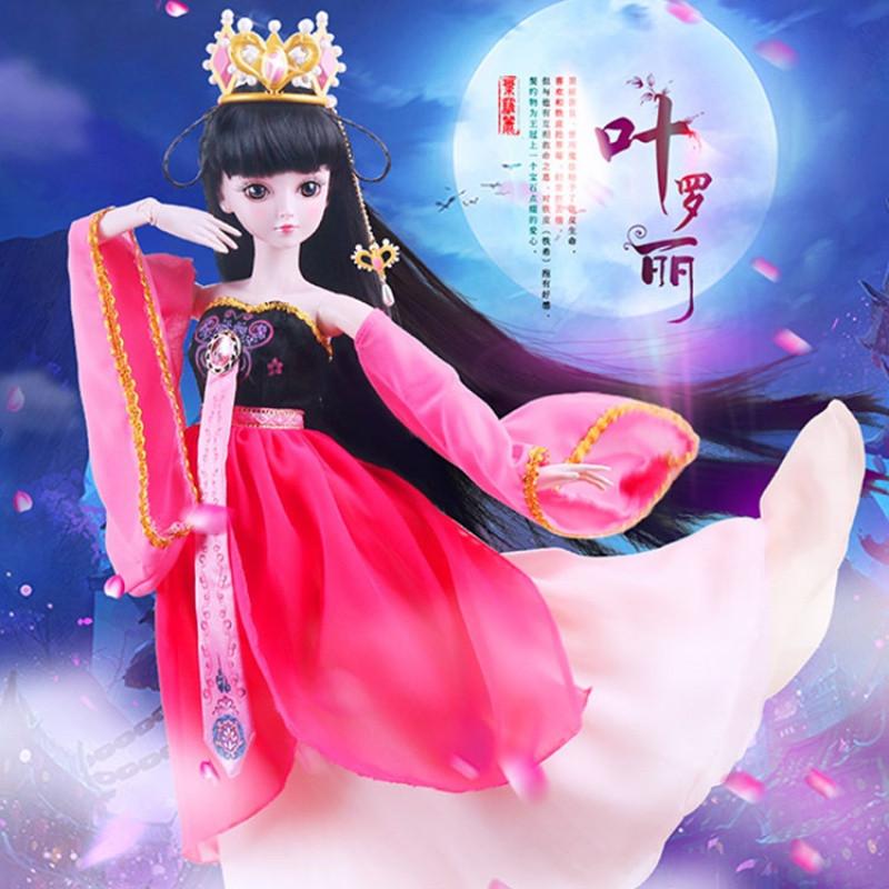 促销叶罗丽娃娃正品齐娜萌偶像女孩玩具礼物套装夜萝莉精灵梦仙子套装