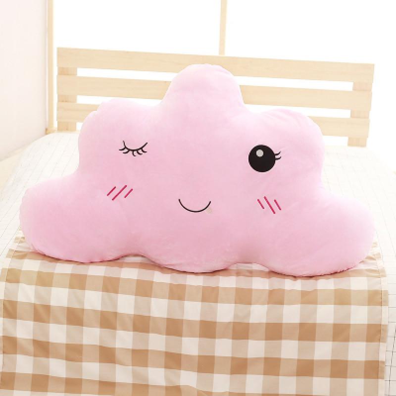 促销床头靠垫软包云朵大靠背儿童抱枕纯棉可爱公主床上睡觉靠枕可拆洗