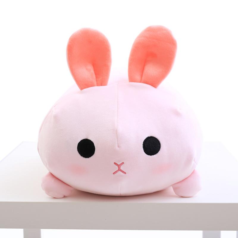 促销羽绒棉小兔子公仔抱枕被子两用睡觉枕头儿童午睡毯子可爱娃娃女生