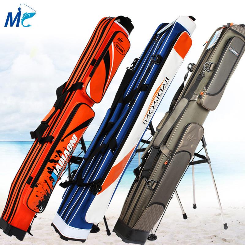 伏魔 防水竿包 渔具包两三层免安装鱼竿包钓鱼包支架包鱼包