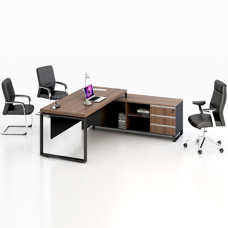 办公家具老板桌简约现代板式大班台主管桌经理桌组合老板办公桌椅图片
