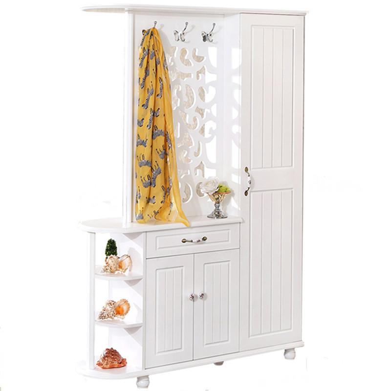 地中海双面烤漆客厅带镜子雕花隔断柜鞋柜衣帽柜挂衣柜玄关门厅柜