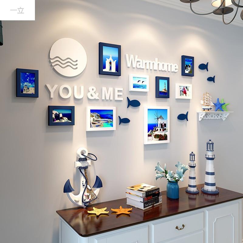 一立新款特价墙壁装饰创意墙面地中海风格卧室墙饰挂件餐厅墙上装饰品
