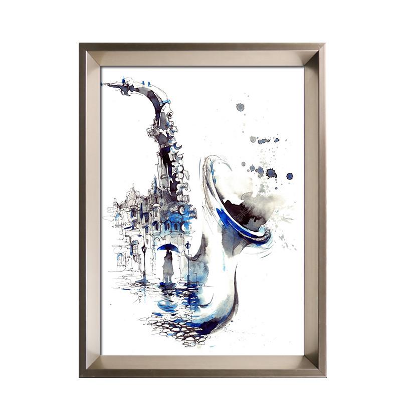 简约素描相框全家福照片像框风景油画框挂墙相框定做十字绣裱画框