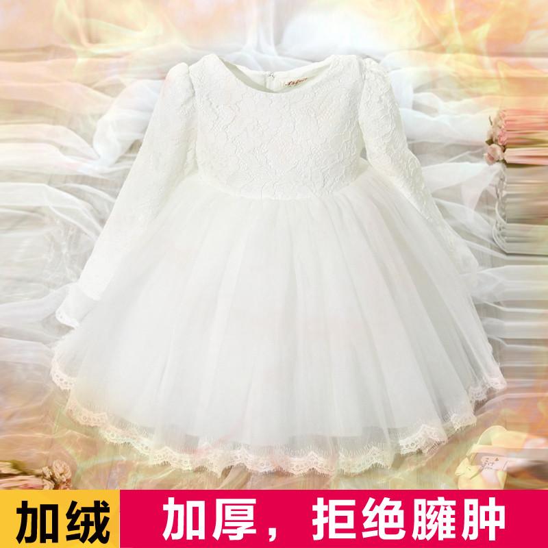 新款公主女童连衣裙图纸宝宝秋冬裙儿童礼服婴柜冬装的隔断图片
