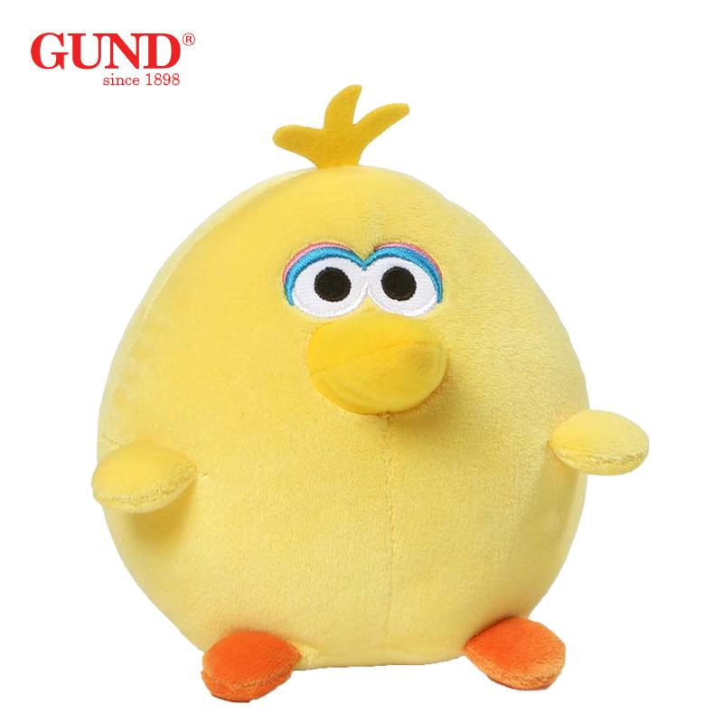 gund 正版美国芝麻街玩偶毛绒玩具可爱 新年送男生女生小 礼品迷你