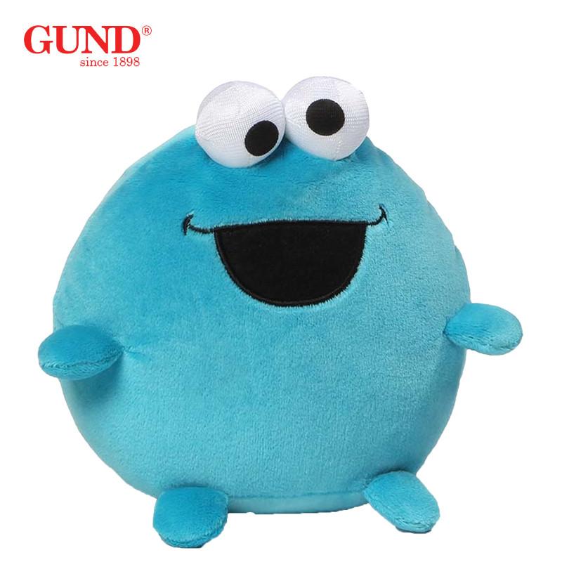 gund 美国正版芝麻街毛绒玩具 可爱玩偶公仔青蛙 新年送男生女生小