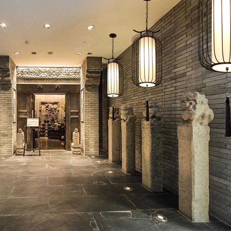 都市誘惑·新中式鳥籠吊燈復古走廊餐廳飯店吧臺茶樓火鍋店鐵藝燈籠