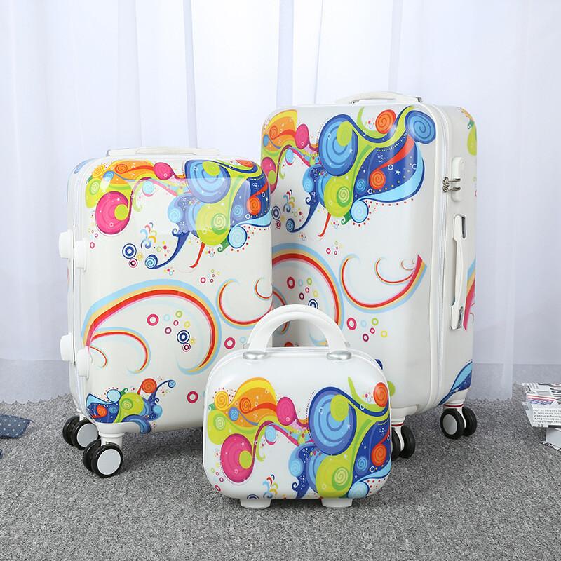 卡通旅行箱万向轮儿童拉杆箱可爱学生行李箱