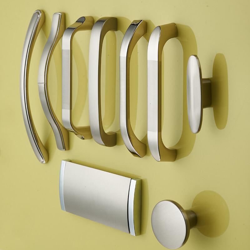 橱柜拉手现代简约暗衣柜门把手抽屉拉手欧式隐形厨房柜子小图片
