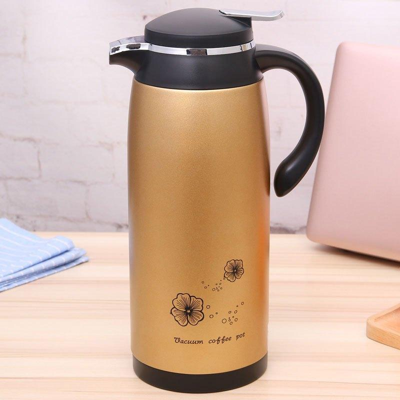 保温壶家用欧式保温瓶大容量玻璃内胆热水瓶水壶车载户外多色多款多功图片