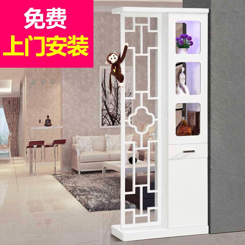 酒柜玄關柜客廳隔斷柜進門鞋柜簡約現代酒柜屏風柜歐式簡易小戶型