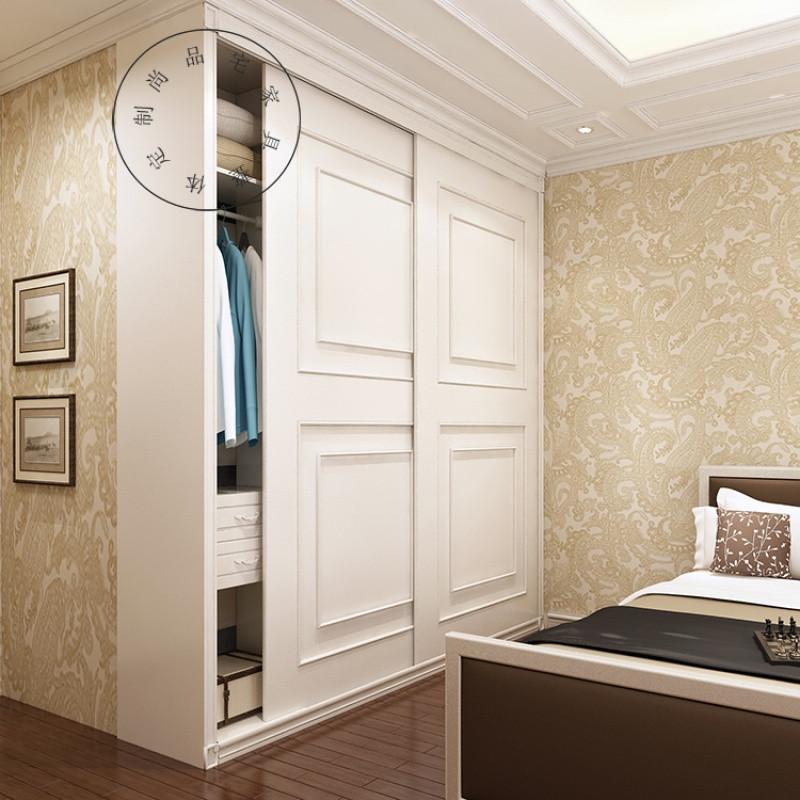 整體衣柜定制臥室推拉門歐式衣柜整體衣柜定制衣帽間全屋家具定制