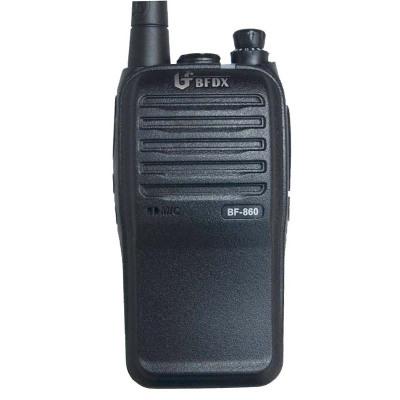 北峰BF-860對講機 5瓦大功率 2500聚合物鋰電池 LED強光手電功能 抗摔 防淋對講器bf-860