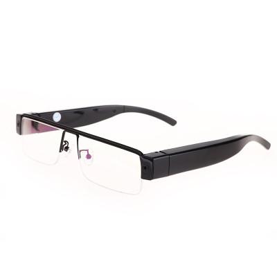 吉力士(JILISHI)智能高清迷你视频录像插卡眼镜骑行摄像眼镜拍照眼镜会议记录像仪隐形摄像机运动相机微型摄像头