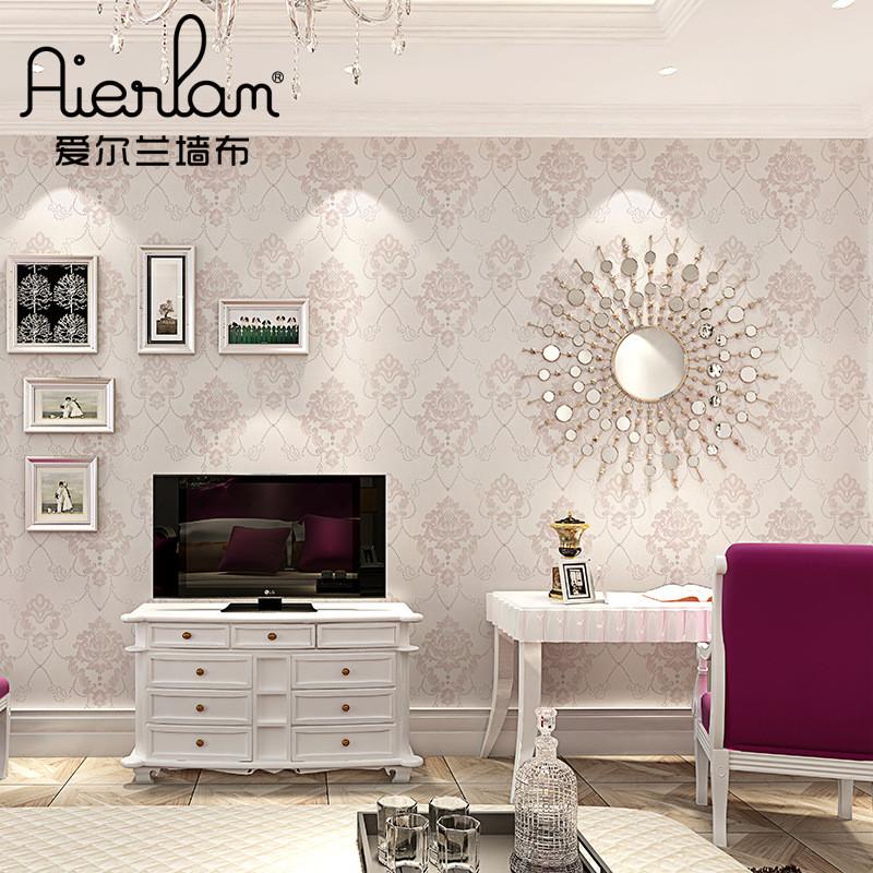 爱尔兰无缝墙布简欧式大马士革欧式壁布客厅卧室背景墙纸厂家直销图片