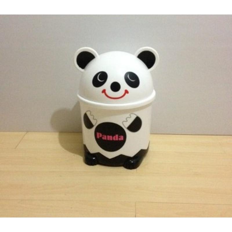 可爱垃圾桶时尚创意小熊翻盖式垃圾桶收纳桶 客厅家用