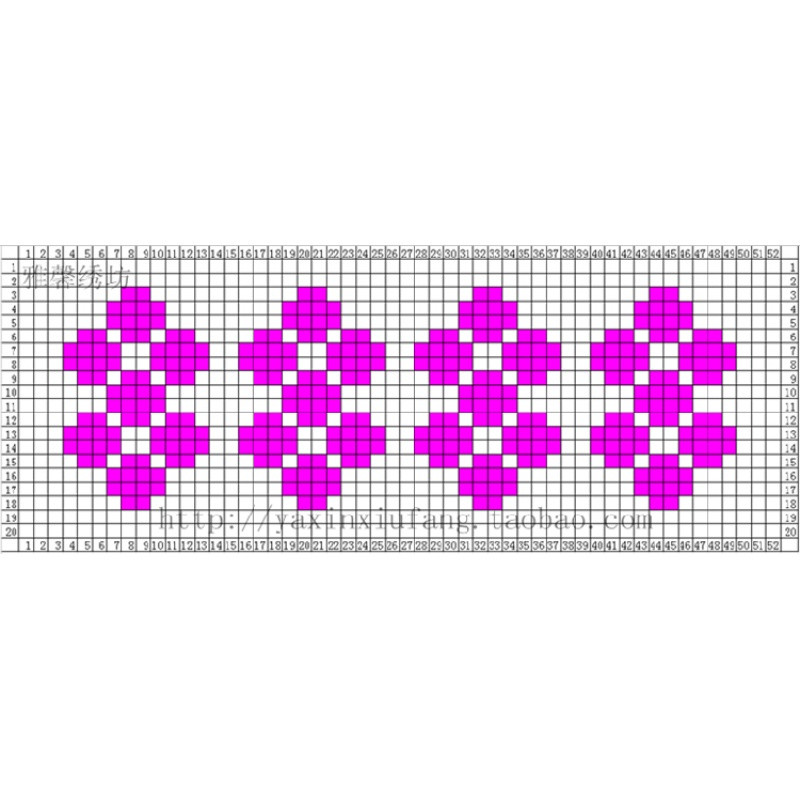 手工棉鞋编织毛线鞋帮拖鞋棉鞋织法图案视频教程图纸电子版花样