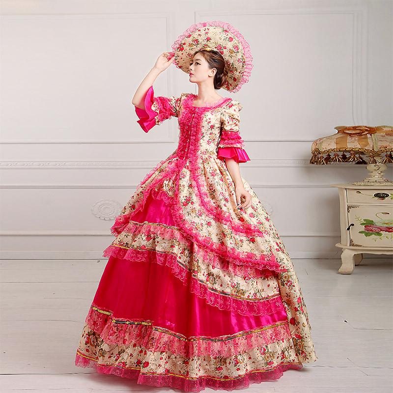 主题新款欧洲女宫廷服演出服装影楼皇家欧式摄影服舞台舞蹈