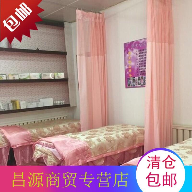 美容院医院隔断帘窗帘阻燃诊所老人床客厅隔断定制6图片