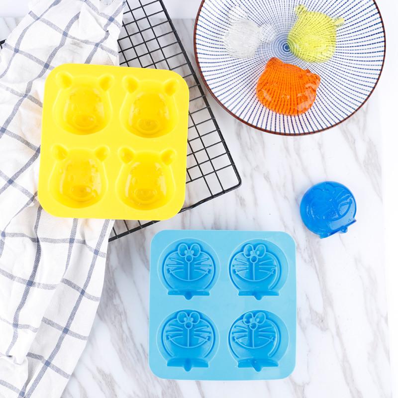 硅胶米糕模具宝宝辅食模具家用烘焙蒸蛋糕儿童可爱卡通模具